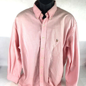 POLO RALPH LAUREN Classic Fit Button Down Sz 17
